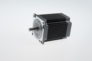 NEMA 23 tiga fase 1,2 derajat Hybrid Stepping motor (76mm 2.0Nm)