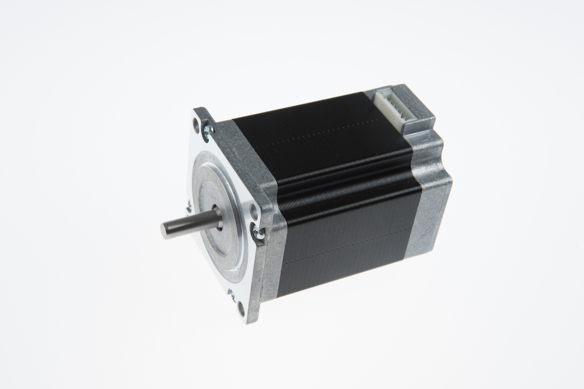 ODM Manufacturer Bag Making Machine Motor Driver - NEMA 23 step angel 0.9 degree connector type hybrid stepping motor  (76mm 1.8N.m) – PROSTEPPER Featured Image