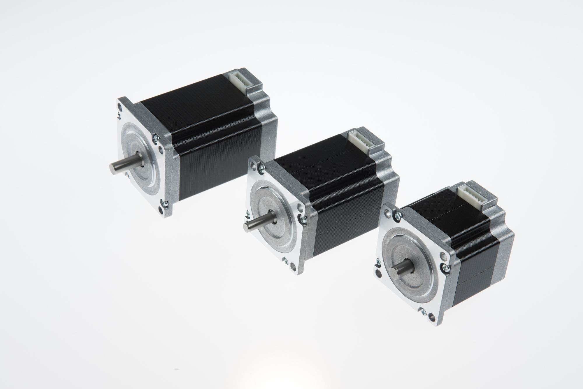 ODM Manufacturer Bag Making Machine Motor Driver - NEMA 23 step angel 0.9 degree connector type hybrid stepping motor  (76mm 1.8N.m) – PROSTEPPER