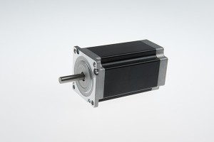 NEMA 23 urrats angelu 3 maila, abiadura handiko hibrido zapaltzeko motor (100 mm 2.7Nm)