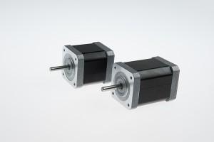 Nema 17 ŝtupo angulo 3 grado alta rapido hibrida tretante motoro (61mm 0.72Nm)