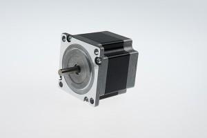 NEMA 23 urrats angelu 3 maila bakar ardatz abiadura handiko hibrido zapaltzeko motor (55mm 1.2 nm)