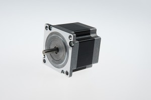 NEMA 23 stepping Motor tunggal aci (55mm 1.2Nm)